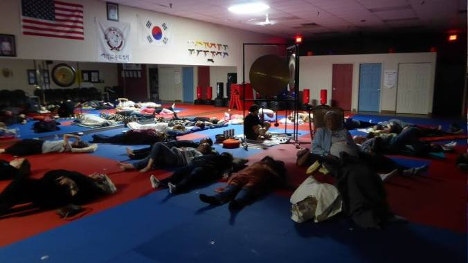 Benjamin Savage Gong Meditations True Balance Karate