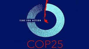 Logo e imagen de la COP 25 de Madrid