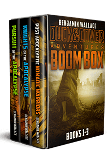 post-apocalyptic nomadic warriors duck and cover adventure series