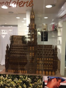 Town Hall made out of chocolate!
