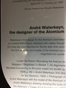 A bit of background history on the Atomium.