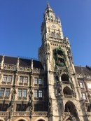 The town hall in Munich, Germany.