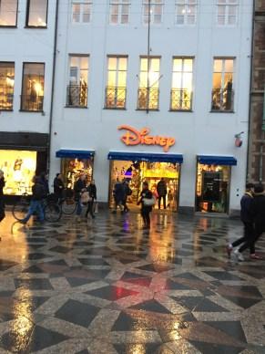 We found a Disney store in Copenhagen.
