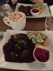 My favorite meal in Europe so far. Swedish meatballs!!