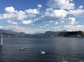 Luzern was close enough to the alps to make it SOOOO beautiful.