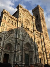Finally made it to Florence after being on a train for 12 hours. This is the Duomo (the Cathedral in Florence that the entire city is built around)