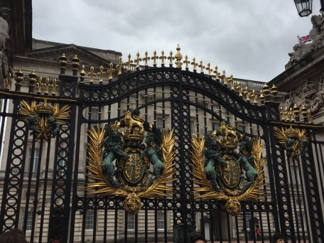 Buckingham Palace Gate.