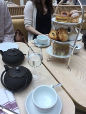 When in London, you HAVE to get afternoon tea.