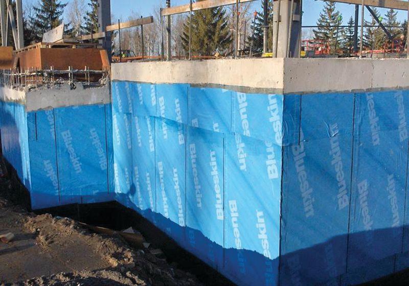 Blueskin Foundation Waterproofing
