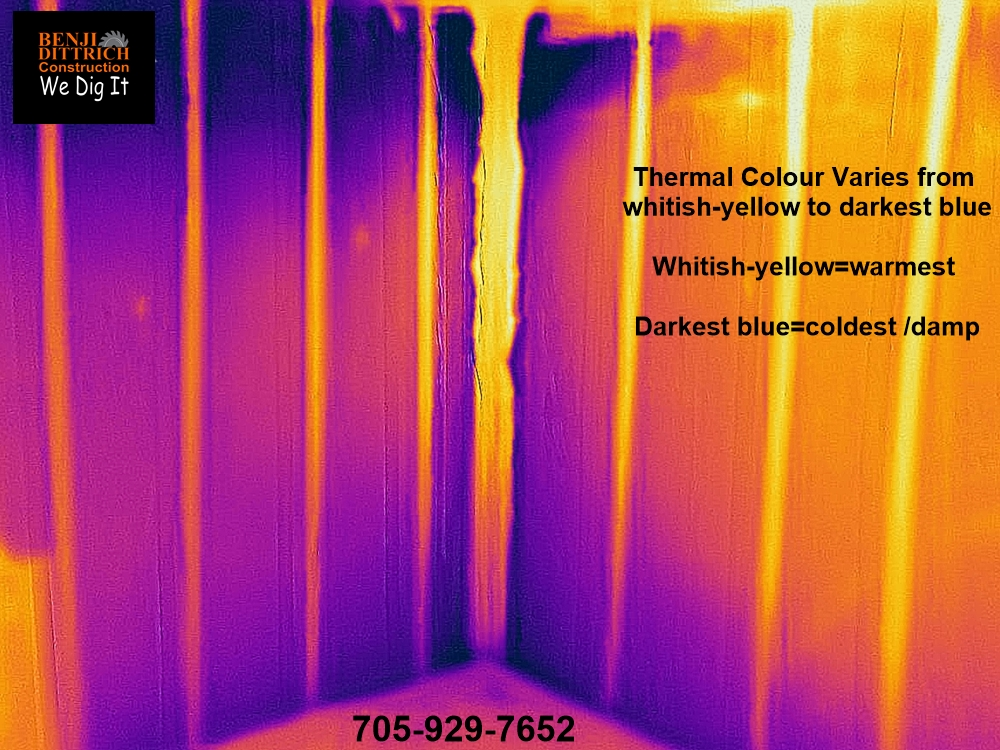 Wet Basement Infrared Camera