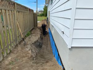 """Foundation Waterproofing """"Packing"""""""