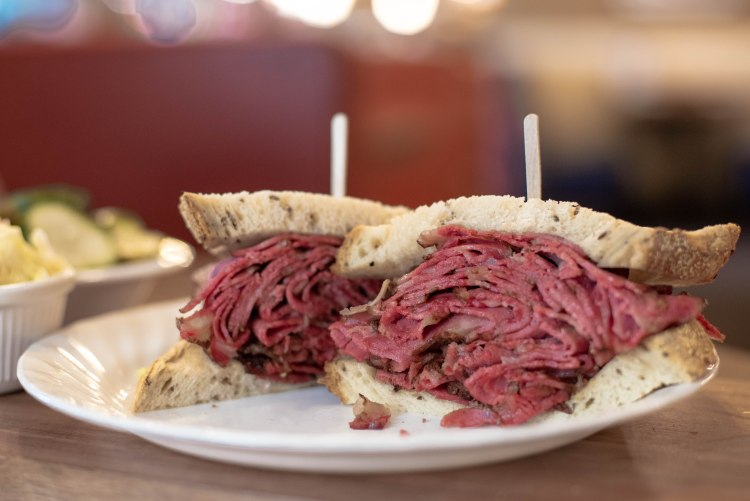 Pastrami sandwiches are our staple and keeps our customers coming back.