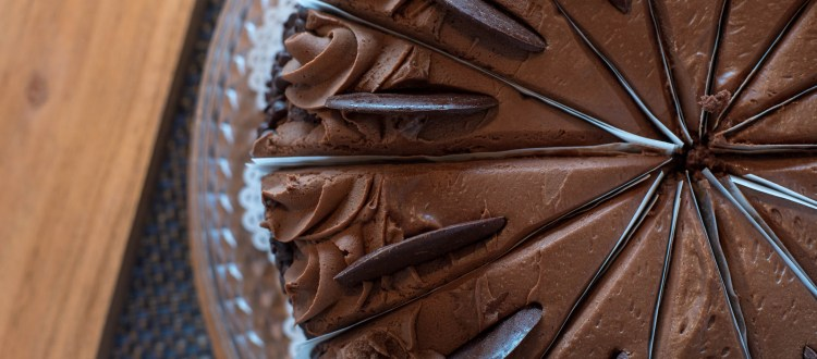 This is known as the Chocolate Wipe Out Cake. Please eat at your own risk. Beautiful chocolate cake is always a favorite.