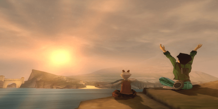beyond good and evil review - sunset