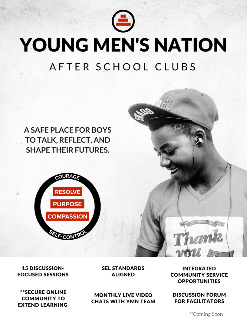 Young Men's Nation Clubs Flyer - Page 1