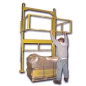 Clear-Aisle Safety Gate