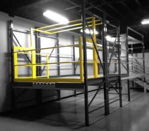 Protect-O-Gate: Pivot Style Double Safety Gate