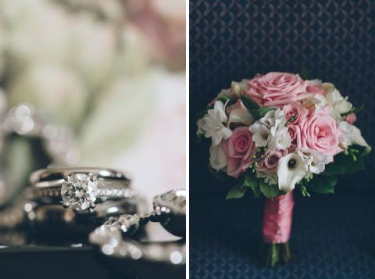 Wedding details for a Rock Island Country Club wedding in Sparta, NJ. Captured by Karis of Ben Lau Photography.