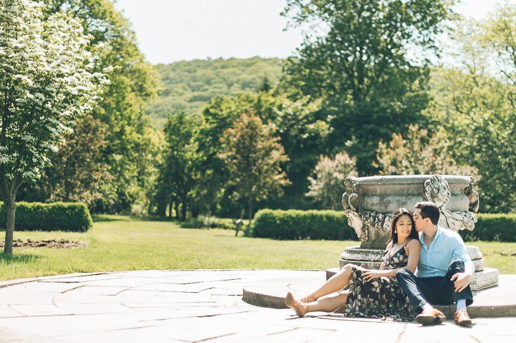 [Engagement] Peggy & Anthony – NJ Botanical Garden in Ringwood, NJ » Ben Lau | NYC & NJ Wedding Photographer
