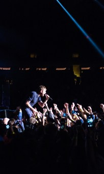 Damon Albarn and Blur at Madison Square Garden,