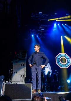 Damon Albarn on stage