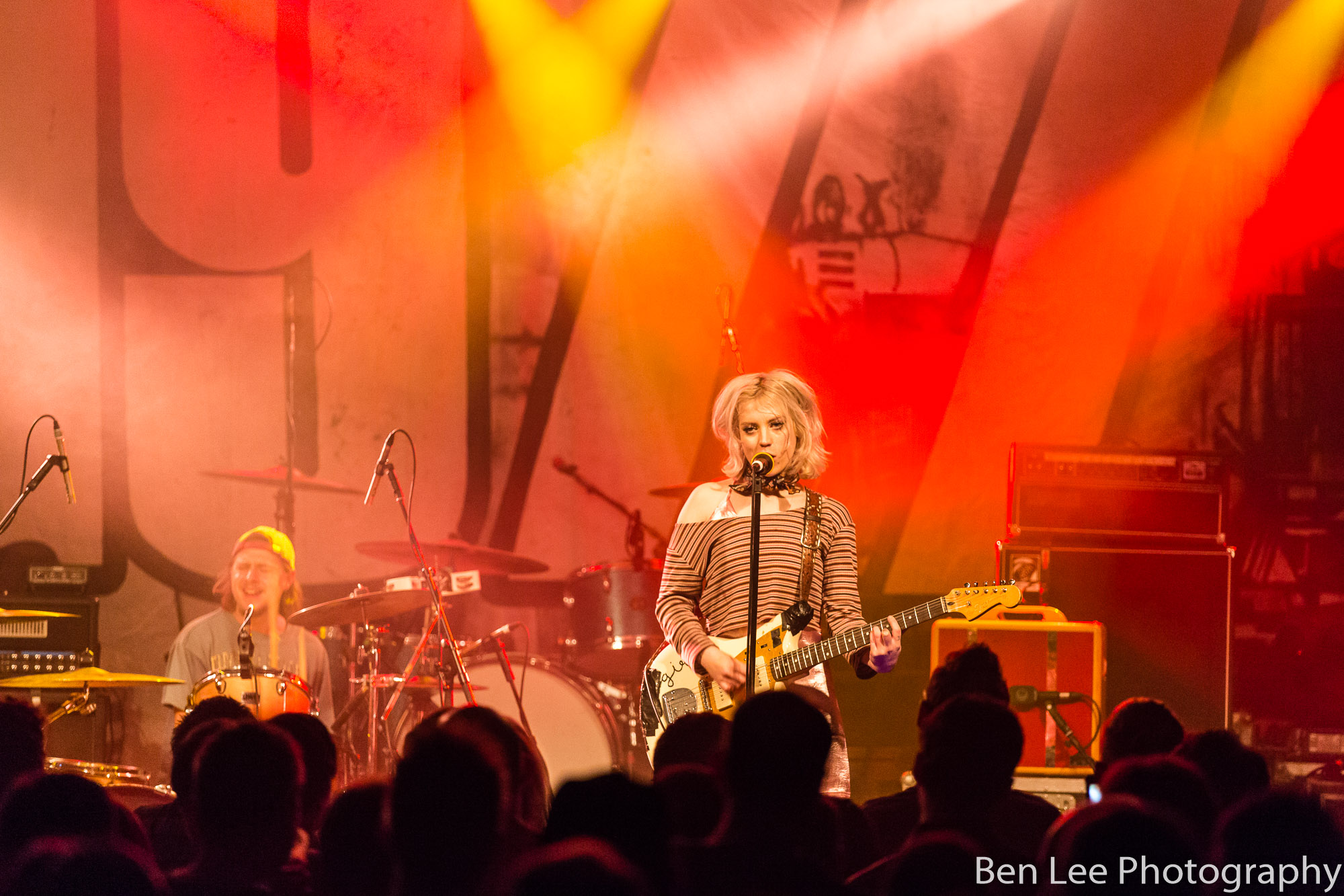 Black Honey playing at Rock City Nottingham, December 2016, photo by ben lee photography