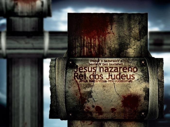 Design da capa de cd quem e esse cruz com sangue envelhecida