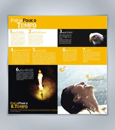 Ministério Restauração Profética - Falta Pouco Tempo ( Escola de foto) prêmio de capa de cd gospel thiago carneiro benlev