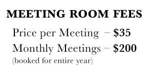 meeting room fees