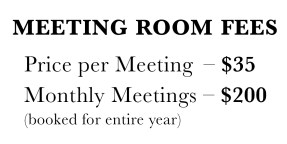 meeting room fees