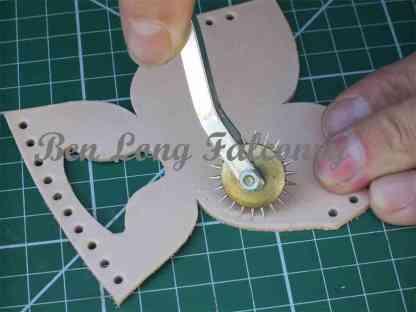 Wheel-type Stitch marker