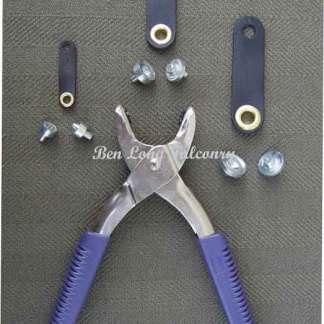 Eyelet Plier Multi Tool Complete With Dies