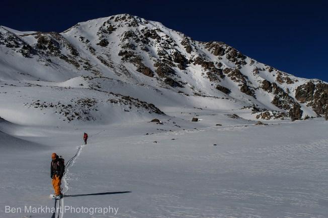 south east face uneva ski tour-1