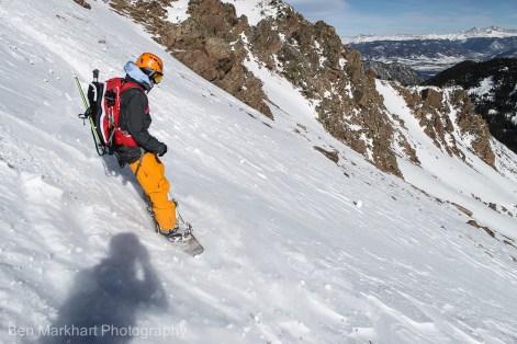 south east face uneva ski tour-13