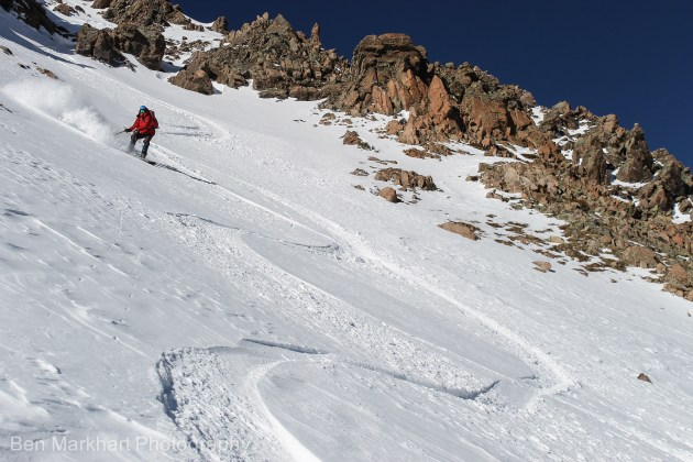south east face uneva ski tour-14