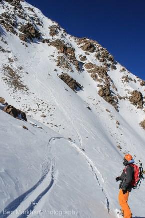 south east face uneva ski tour-2