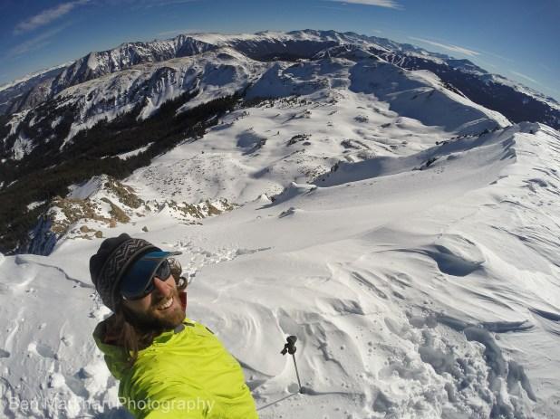 south east face uneva ski tour-3