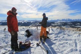 south east face uneva ski tour-4