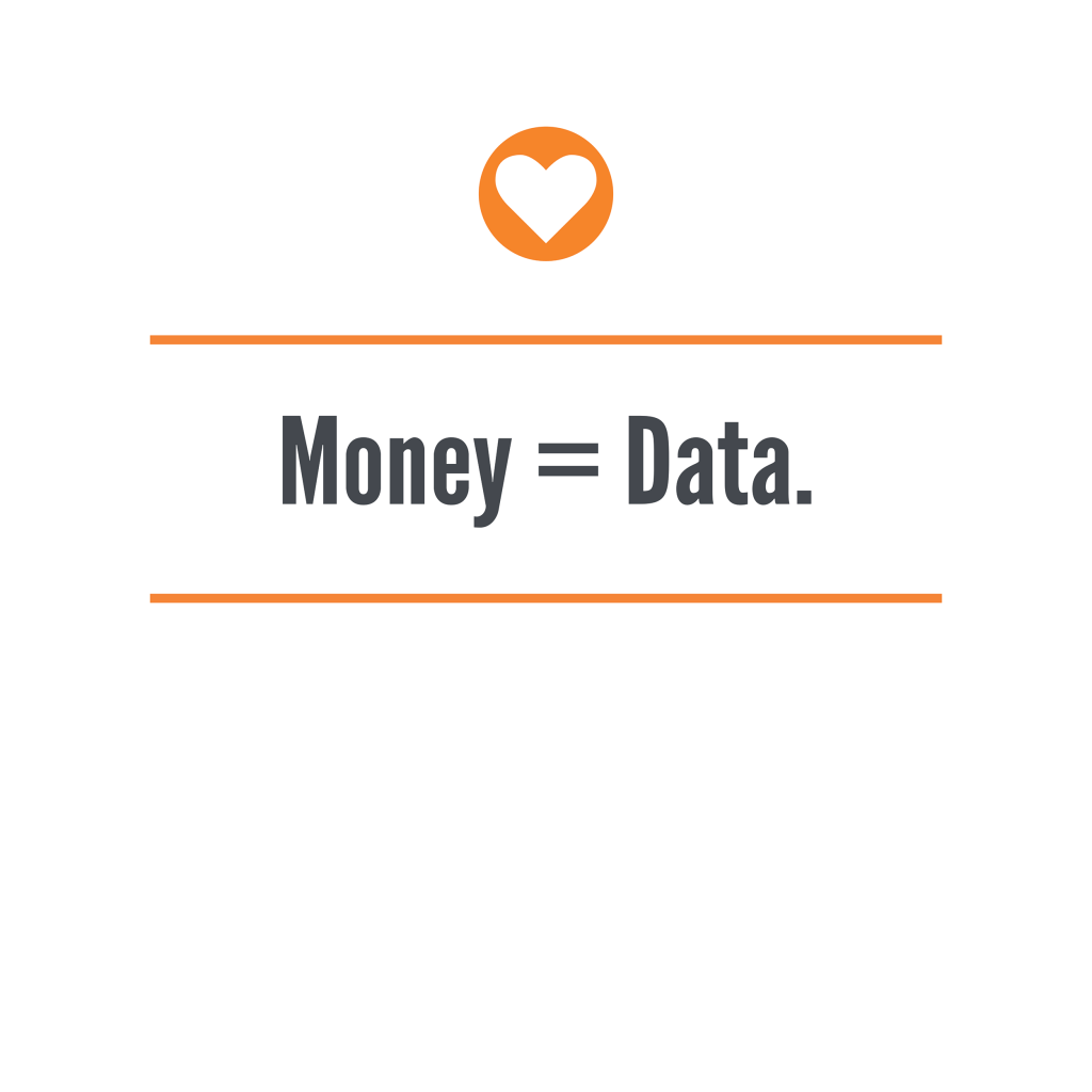 Money = Data