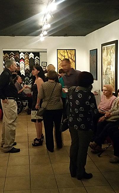 Colectiva de Estudiantes de Dibujo y Pintura en UNIK Prestige Gallery