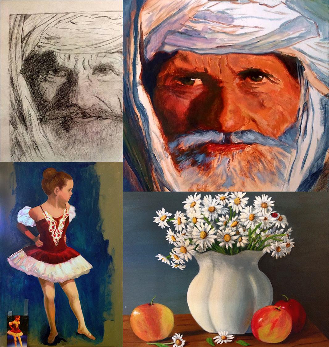 Lecciones Privadas de Dibujo y Pintura