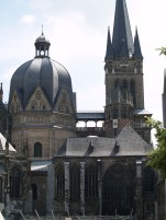 Charlamagne's Cathedral in Aachen, Germany