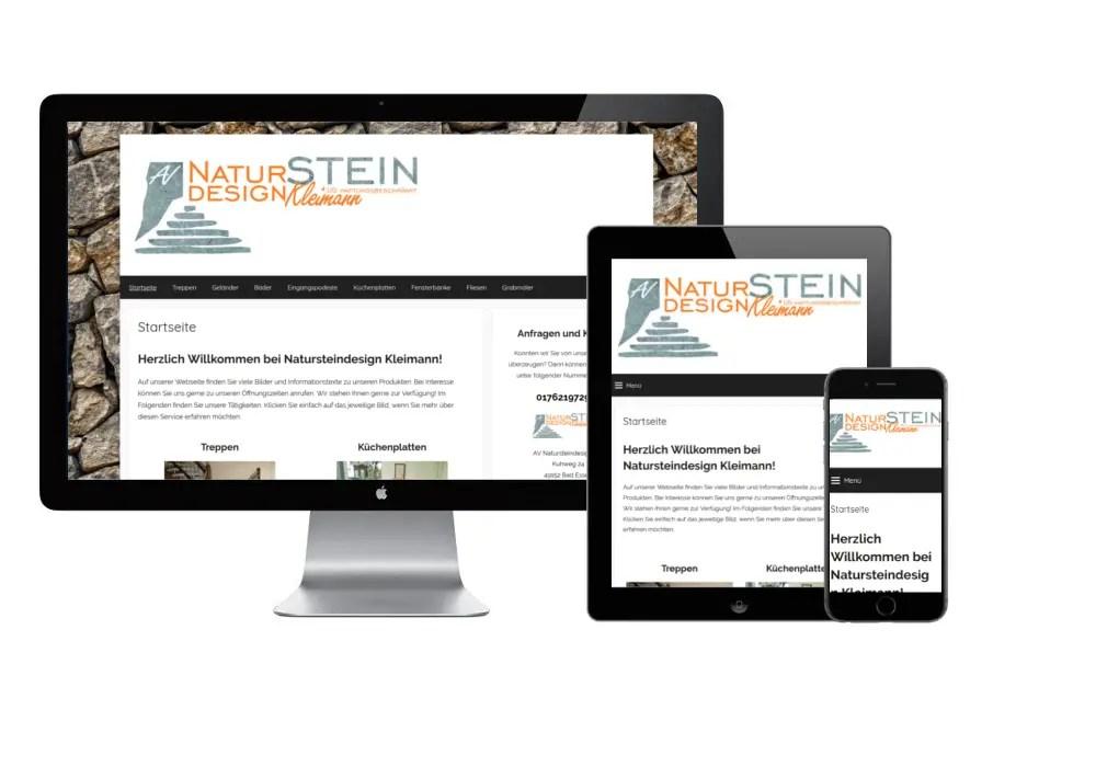 Webseitenerstellung von Kleimann