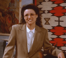 My name-sort-of-doppelganger: Elaine Benes