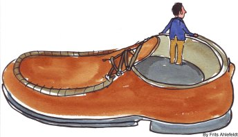 Actions need to align with your words. The shoemaker's children shouldn't go barefoot
