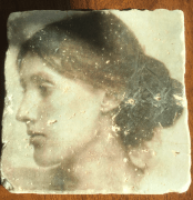 Virginia Woolf on a coaster