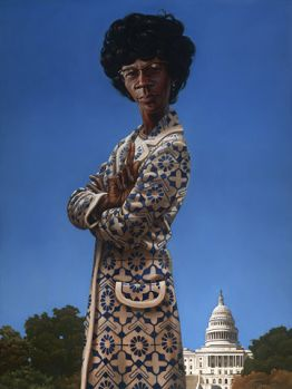 Shirley Chisholm's official Congressional portrait.