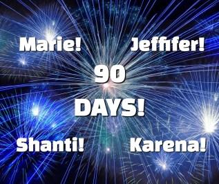 90 days!