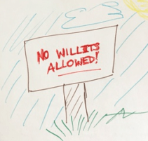 no Willits allowed