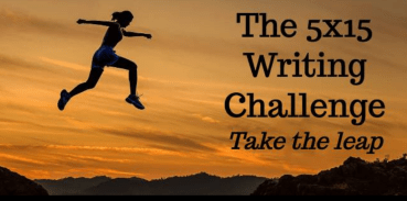 practice daily writing in my 5x15 writing challenge